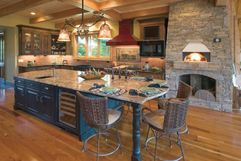 Natural Element Timber Frame Interior Photos