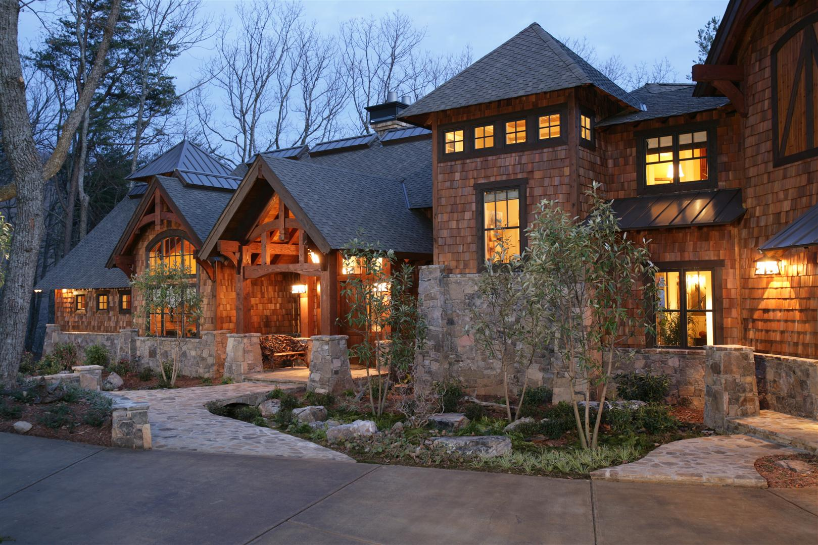 Natural element timber frame homes for Home elements