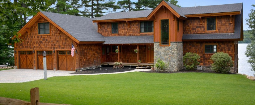 Timber Frame Home Plans The Wailing Loon Lodge