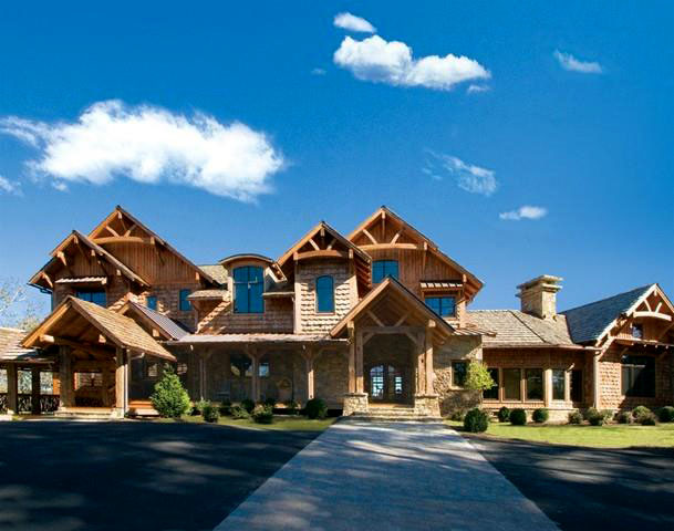 Timber Frame Home Plans The Blue Ridge Lodge Plan