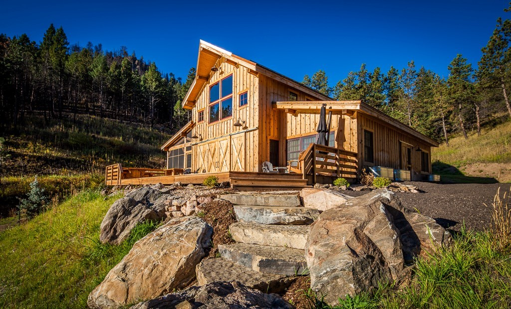 Rocky mountain log homes affordable mountain home plan for Rocky mountain home builders